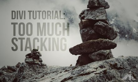 Divi Tutorial – Control Mobile Stacking