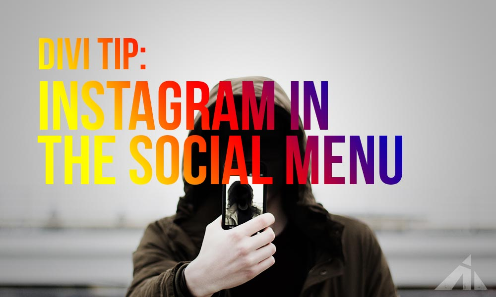 Divi Tip – Add Instagram to the social links
