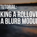 Divi Tutorial – Adding Hover Overlay to the Blurb Module