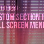 Divi Tutorial – Custom layout fullscreen menu