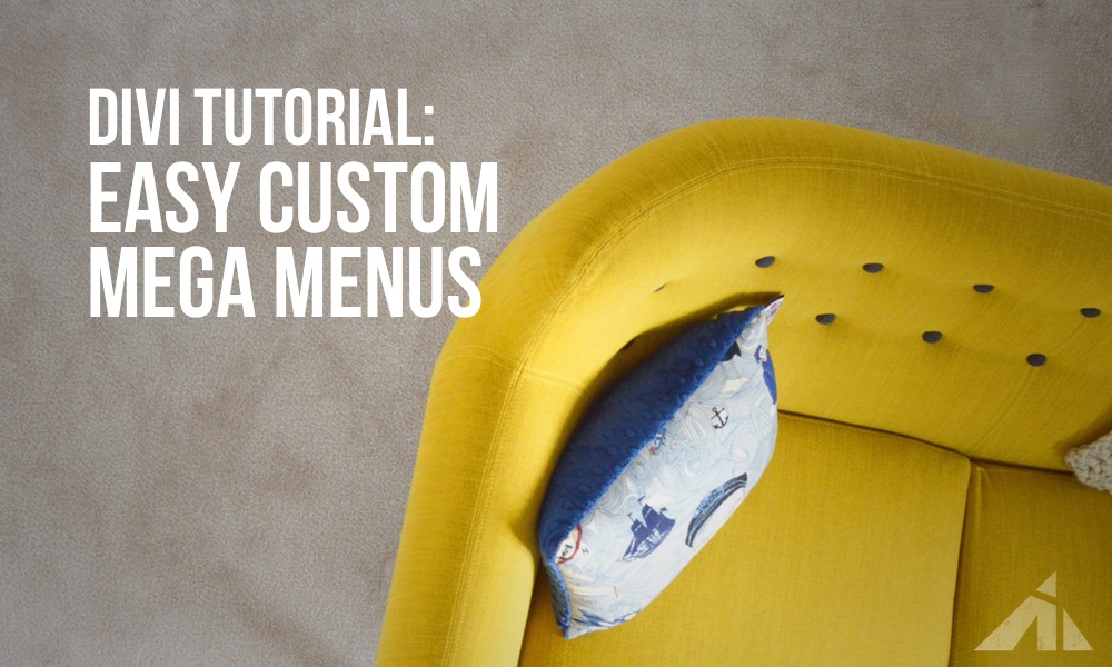 Divi Tutorial – Make your own custom megamenu