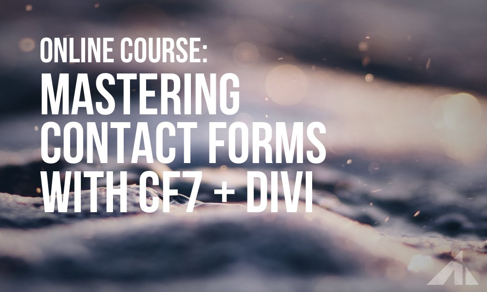 Learn Contact Form 7