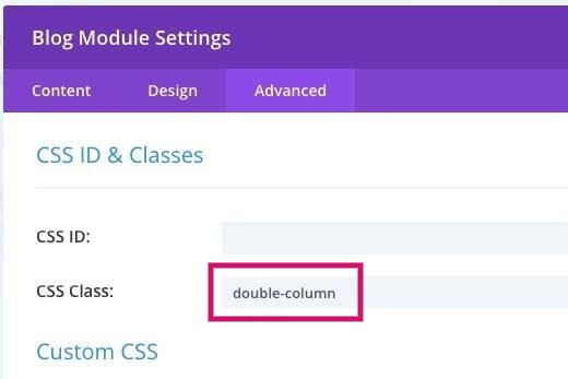 Divi - Styling the blog module