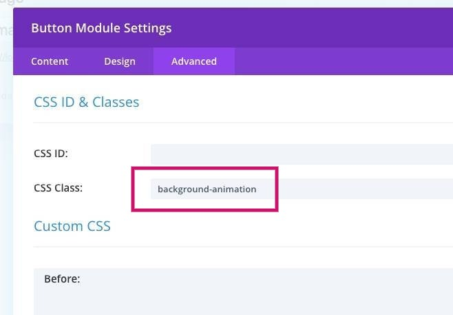 Divi Tutorial - animating button backgrounds