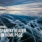 Divi – transparent header only on home page
