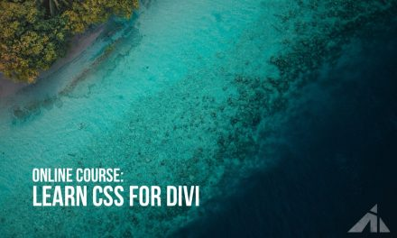 Course – Learn CSS for Divi