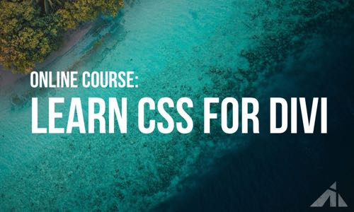 Learn CSS for Divi