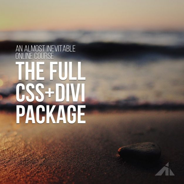 The full CSS + Divi package