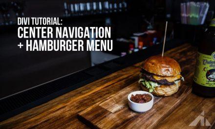 Divi – Header with both a nav menu & hamburger