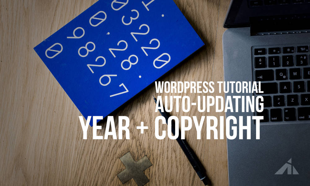 WP – Add a year + copyright shortcode