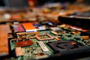 green circuit board
